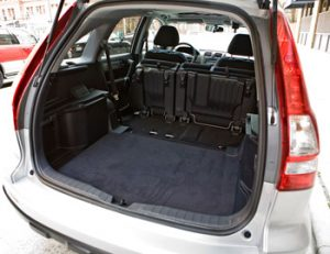 CR-V Seats Up